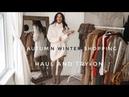 Autumn Winter Shopping Haul Video | Zara, H M, Very