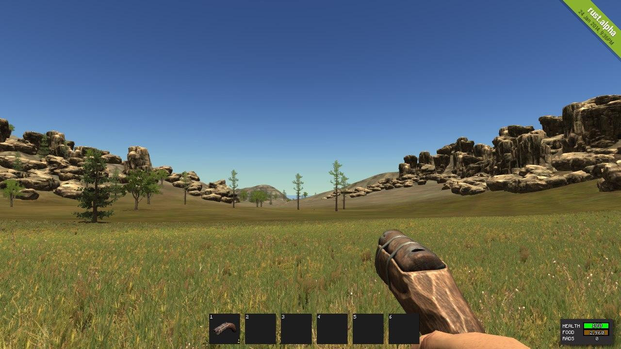 Как выглядит Hand Cannon в игре Rust