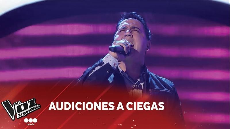 E. Espinoza - El deseo de oír tu voz - C. Castro - Audiciones a ciegas - La Voz Argentina 2018