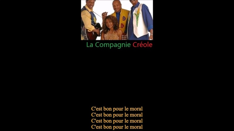 FRENCH GUIANA Aritsts- La Compagnie Créole-Cest Bon Pour Le Moral [Its Good For Morale]