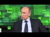 Путин философствует о русском и американском менталитете на телеканале RT