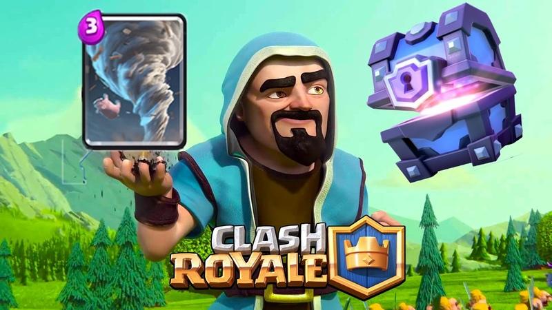 ОБЗОР ТОРНАДО НОВАЯ КАРТА ОТКРЫТИЕ СУНДУКА Clash Royale - Часть 15 (Арена 6) (GamePlay iOS/Android)