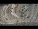 Медные руды Урала Карьер Учалинского медно цинкового месторождения
