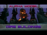Альфа-модели построек Тьмы [Alpha models of Dire Buildings]
