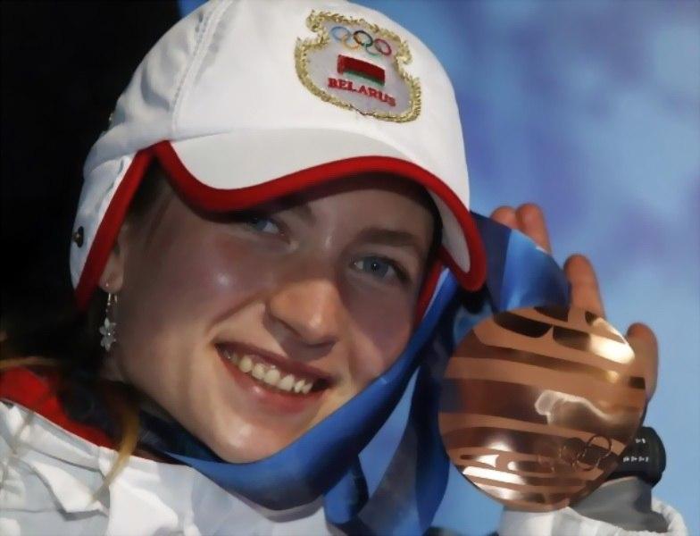 Первая олимпийская награда Даши-бронза Ванкувера в индивидуальной гонке