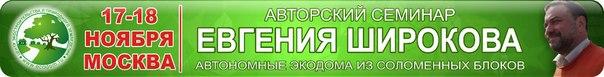 Семинар Е.Широкова