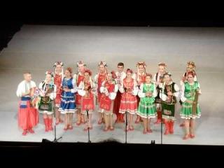 30 Międzynarodowe Warsztaty Folklorystyczne, koncert galowy - zespół Hlados z Ukrainy, część 2