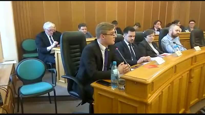 Заседание ЕГД. КПРФ против повышения зарплат.