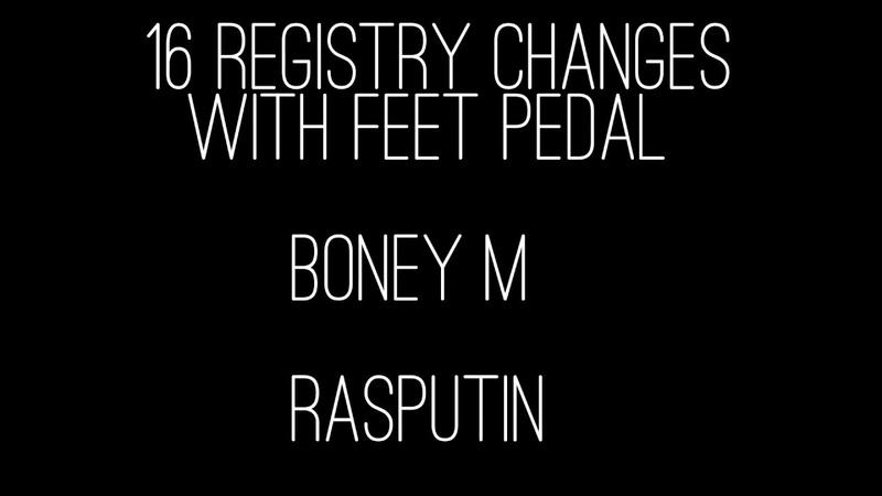 Boney M Rasputin Yamaha Genos Roland G70 by Rico