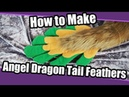 Tutorial 30 Angel Dragon Tail Feathers for Fursuits PDF Pattern