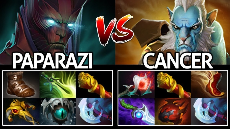 Paparazi [Terrorblade] Imba Carry Full item VS Cancer Lancer 7.19 Dota 2