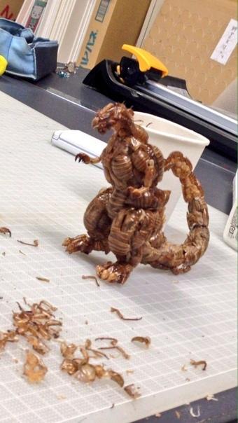 Старшеклассник создал монстра из насекомых