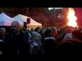 Празднование Jonines в Verkiu