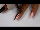 Elegance black mat and Little Daisy nails art Tutorial step by step _ Colours by