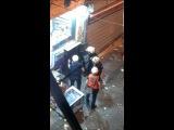 What's Happening In Turkey Турция - Turkish police vandalizing ATM machine, breaking in to store