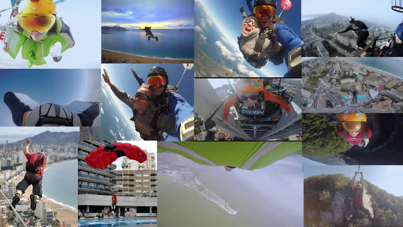 Showreel 2018 BASE Skydive