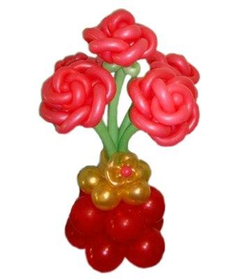 №018 Букет из шаров «Яркие краски»