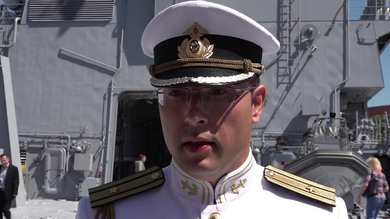 На БДК Иван Грен подняли Андреевский флаг