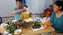 Bữa Cơm Gia Đình Đơn Giản Bò Mỹ Nướng Sả