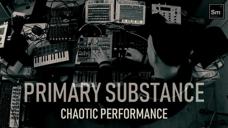 Primary substance chaotic performance live at Karelian suburban studio 290319