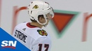 Blackhawks' Dylan Strome Does Spin-O-Rama For Beautiful Goal