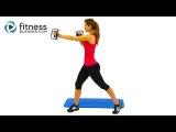 Упражнения для отработки талии (косых мышц живота)