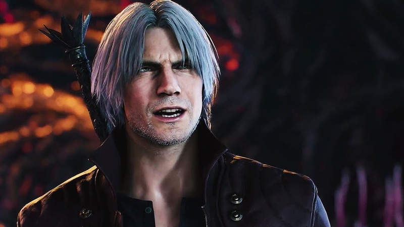 NEW! Devil May Cry 5 - Dante, V, Morrision, Lady Trish Reveal Trailer | TGS 2018 | CAPCOM