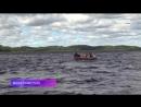 Международные учения по поисково-спасательным работам на воде прошли на озере Янисъярви