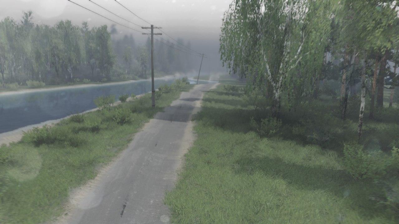 Карта «Open pit mine» для 03.03.16 для Spintires - Скриншот 3