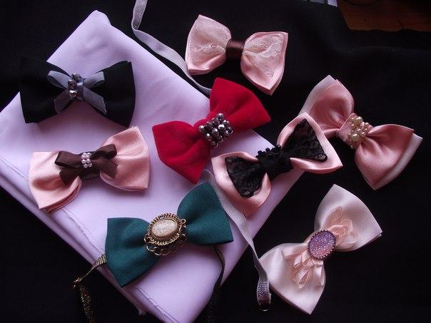 Бабочка галстук женская