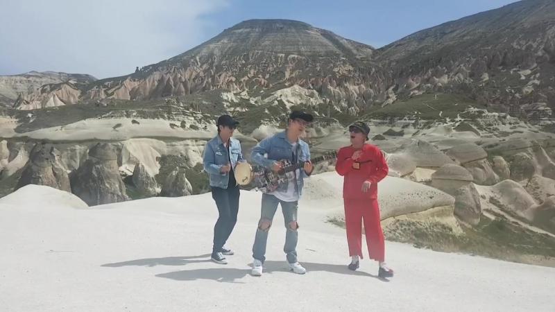 2 день прошёл в долине Ли Хон Ки , Юн ДонХён и Ха ХёнУ