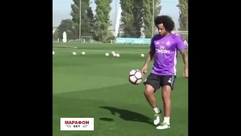Магия Марсело на тренировке