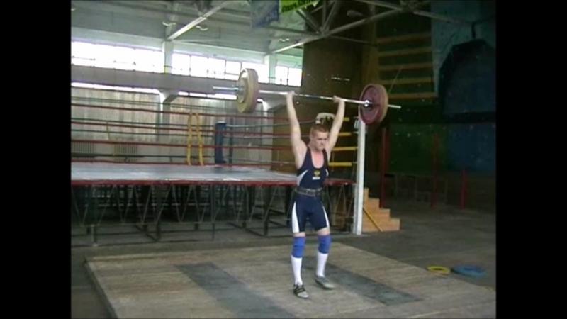 Соревнования по тяжелой атлетике. АлтГТУ. Манеж. 07.11.2010