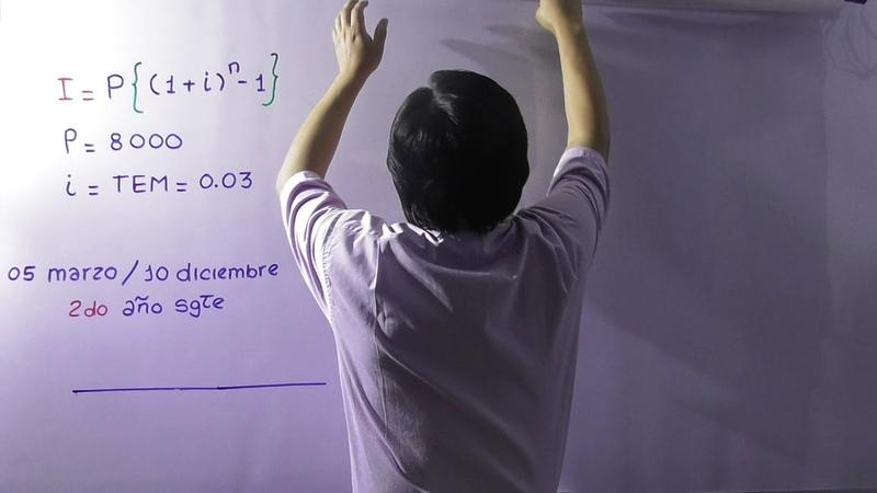 INTERÉS COMPUESTO : cálculo del interés entre dos fechas