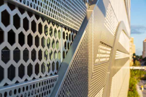 Архитектурный перфорированный металл