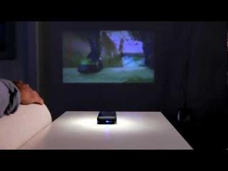 Карманный проектор для iPhone 4.mp4