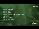 Vecster and Exile / Esthetic b2b Hot Spot, Finsky and Inerpois - Live @ Nuke Lab / Rampa Trash (14.09.2018)