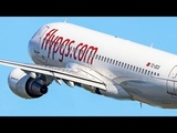 STRANGE GO AROUND AFTER TOUCHDOWN - AIRBUS A320 Touch &amp GO with passengers (4K)