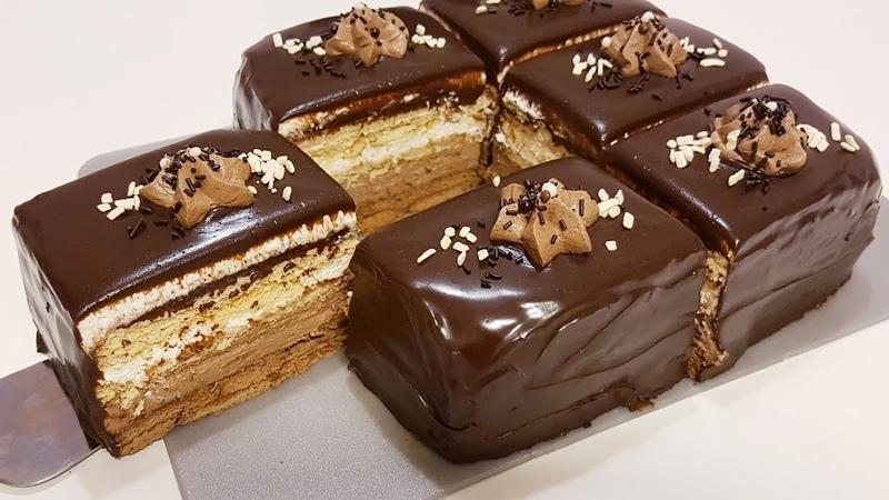 Торт ёки, Пирожное🤔🍫 без выпечки15 минутда
