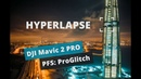 DJI Mavic 2 PRO: Ночной Hyperlapse у Лахта центра. 4k (Person of Interest)