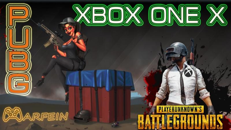 PUBG Xbox One X .И снова в бой