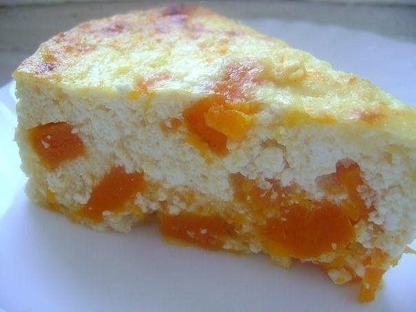 Пирог из творога и тыквы в духовке рецепты