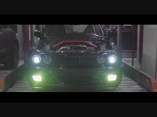 Night Lovell - Trees Of The Valley _ BMW E30 Showtime