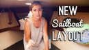 New Sailboat Layout! - Sailing ShaggySeas Ep. 36