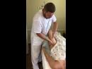 Фрагмент из сеанса общего массажа