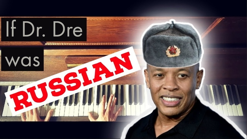 If Dr. Dre was Russian... - piano