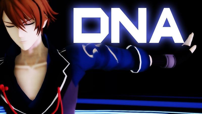 【アイナナMMD】DNA ( Ryunosuke Tsunashi )