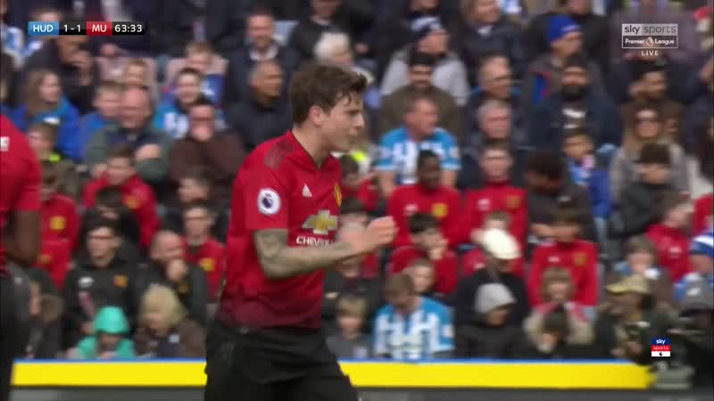 Lindelof commands the team after the equaliser while Young stands by the sidelines