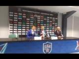 Пресс-конференция Знарка и Никитина после победы СКА над ЦСКА