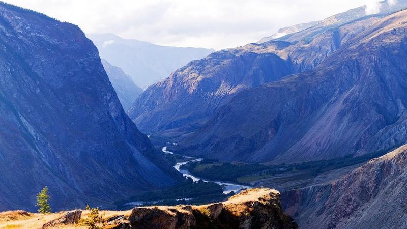 Горный Алтай. Долина Чулышмана от Кату-Ярыка до Телецкого озера